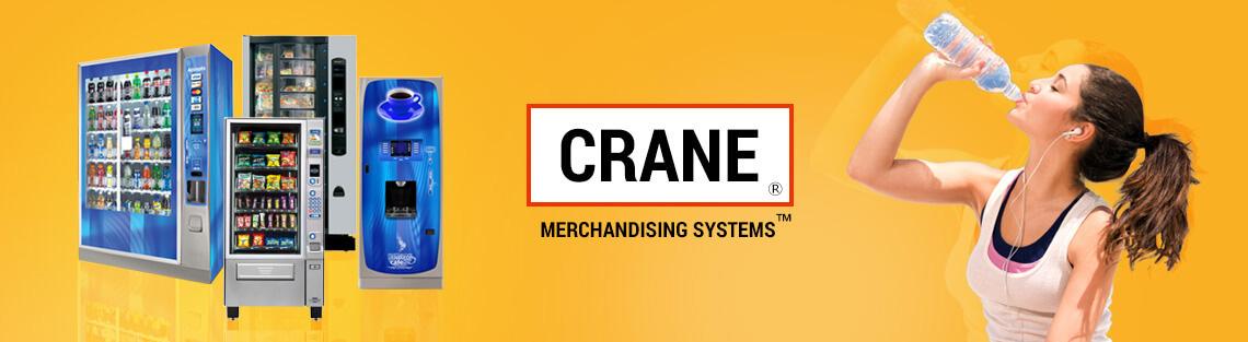 Торговые автоматы Crane.