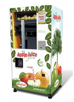 вендинговое оборудование по изготовлению и продаже яблочного фреша