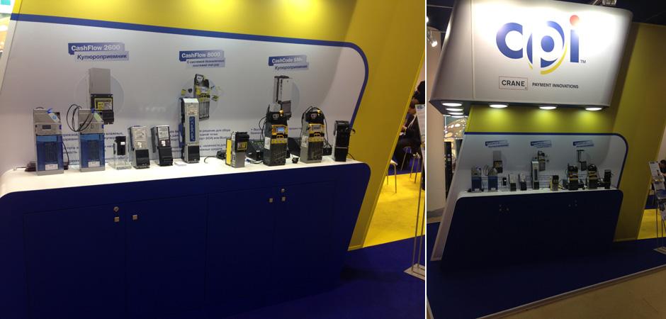 Crane Payment Innovations на выставке VendExpo Россия